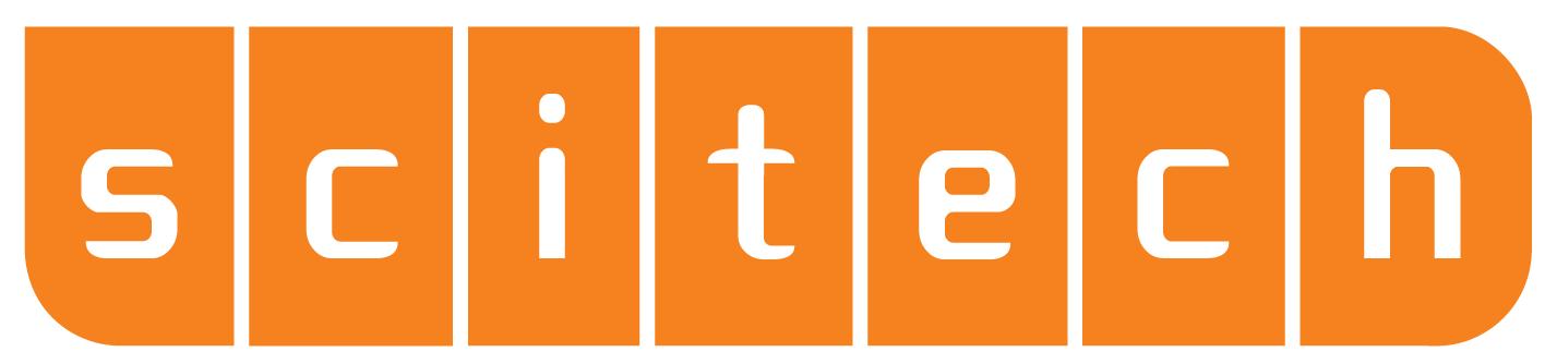 Scitech Logo - Orange